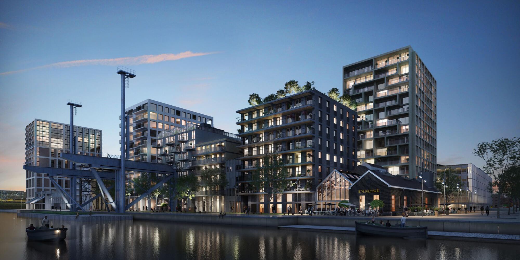 De Hout & De Vijzel & De Admiraal Oostenburg Amsterdam